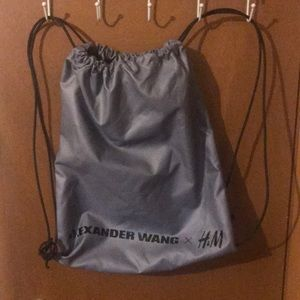 Limited Edition Alexander Wang H&M Backpack